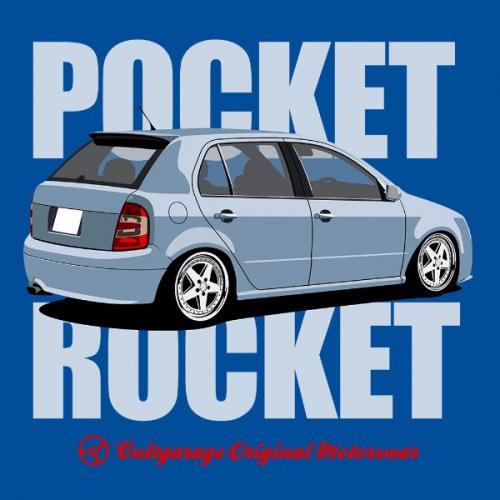 Dámské tričko s potiskem Škoda Fabia 1 světle modrá RP