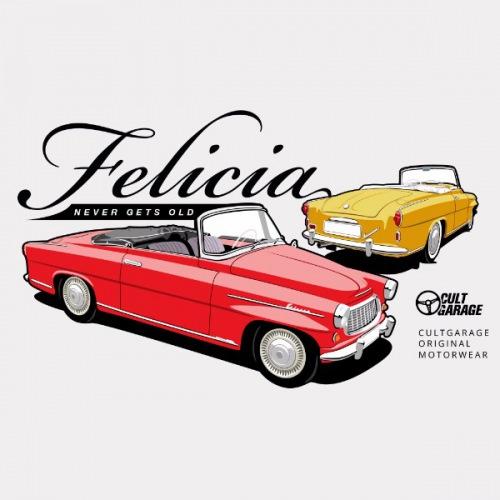 Dámské tričko s potiskem Škoda Felicia Cabrio 1