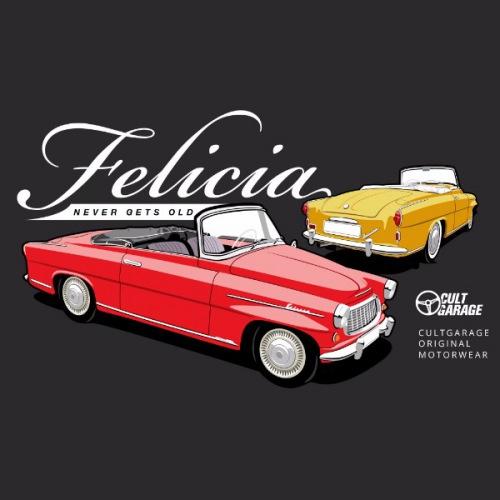 Pánské tričko s potiskem Škoda Felicia Cabrio 2