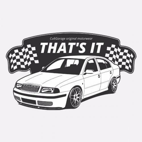 Pánské tričko s potiskem Škoda Octavia 1: That's It