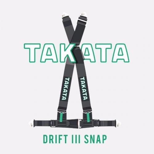 Dámské tričko s potiskem Takata Drift III Snap