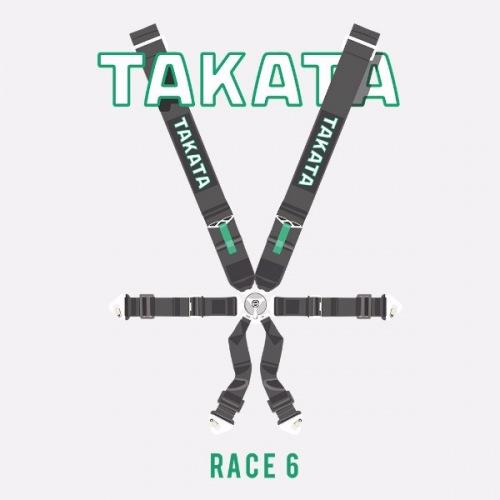 Dámské tričko s potiskem Takata Race 6