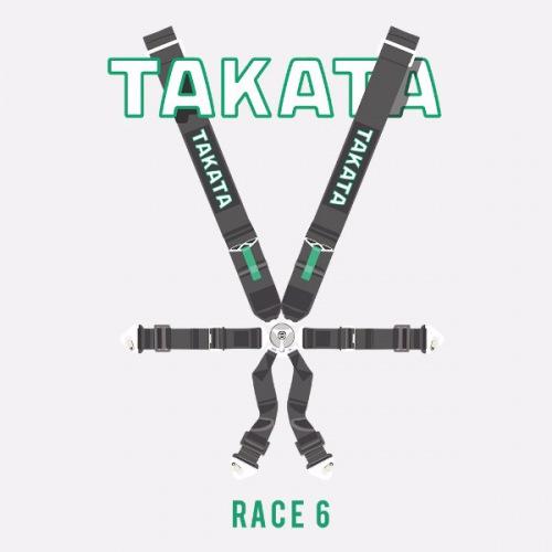 Pánské tričko s potiskem Takata Race 6