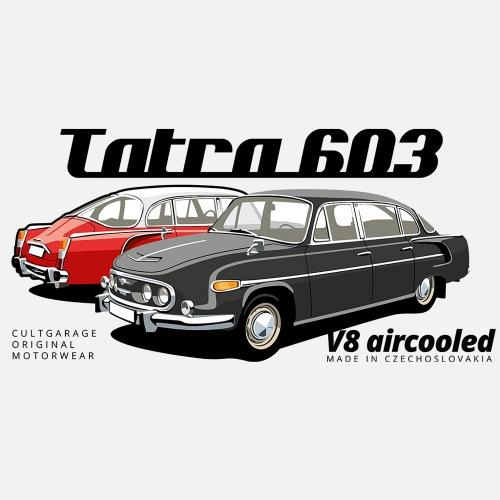 Dámské tričko s potiskem Tatra 603 1