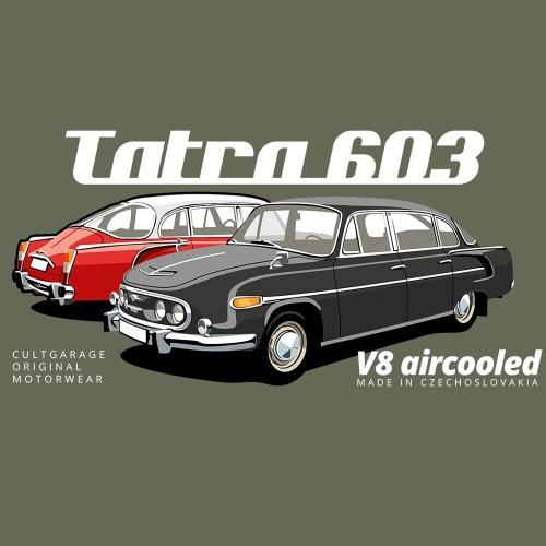 Pánské tričko s potiskem Tatra 603 2