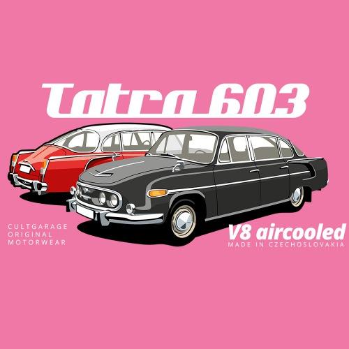 Dámské tričko s potiskem Tatra 603 2