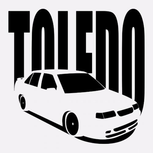 Dámské tričko s potiskem Seat Toledo 1L 1