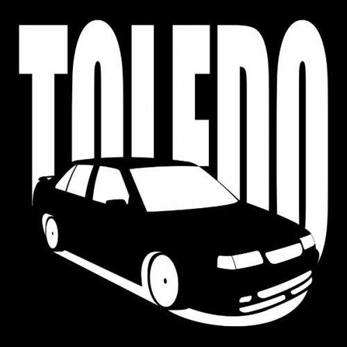 Dámské tričko s potiskem Seat Toledo 1L 2