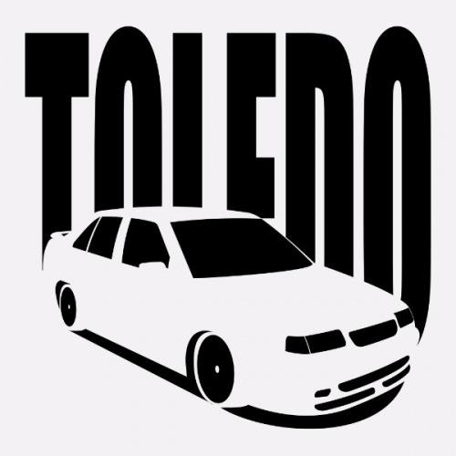 Pánské tričko s potiskem Seat Toledo 1L 1