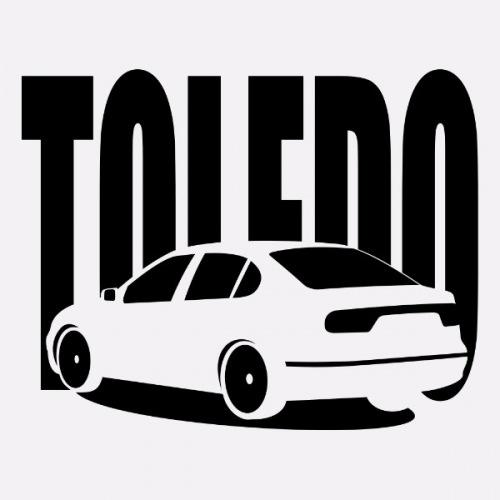 Dámské tričko s potiskem Seat Toledo 1M 1