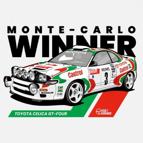 Dámské tričko s potiskem Toyota Celica GT-Four 1