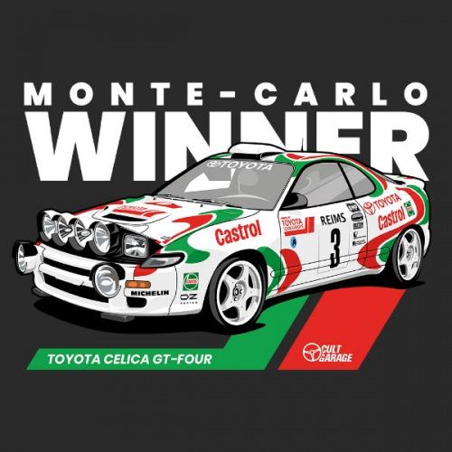 Dámské tričko s potiskem Toyota Celica GT-Four 2