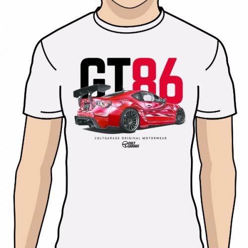 Pánské tričko s potiskem Toyota GT86  Handdrawn ad6ab08ecf4