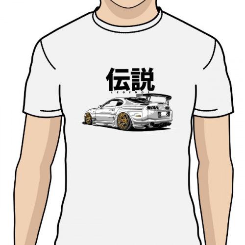 ba0eb75e711f Pánské tričko s potiskem Toyota Supra Legend 1