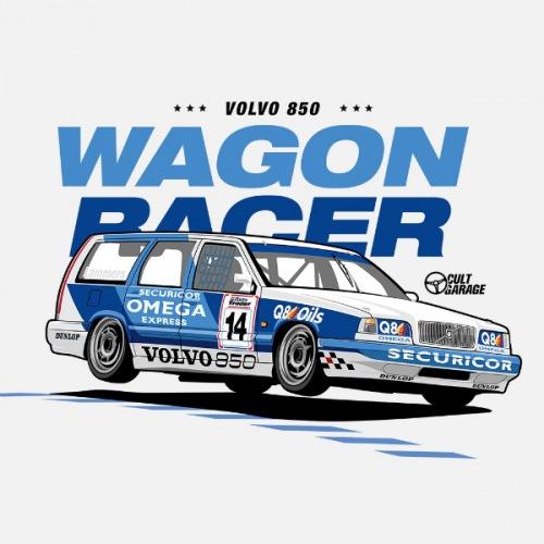 Dámské tričko s potiskem Volvo 850 Estate 1