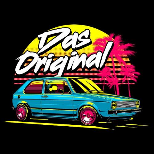 Dámské tričko s potiskem VW Golf 1 Das Original