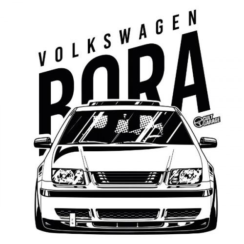 Dámské tričko s potiskem VW Bora front