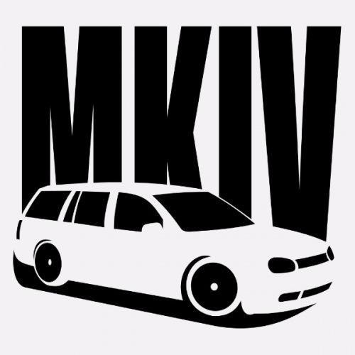 Dámské tričko s potiskem VW Golf 4 Variant 1