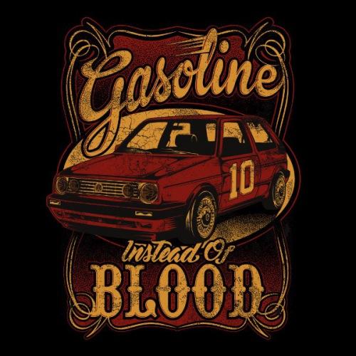 Dámské tričko s potiskem VW Golf 2: Gasoline