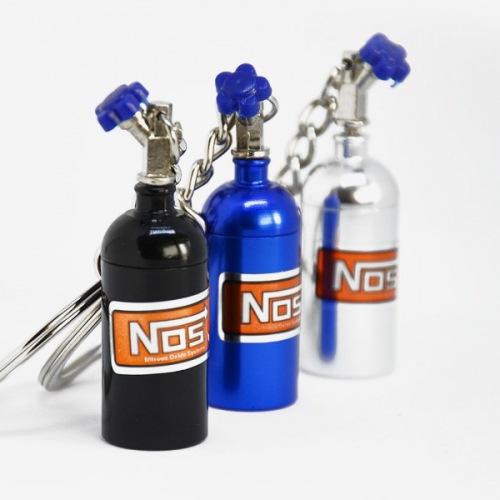 Přívěšek na klíče - tlaková lahev NOS